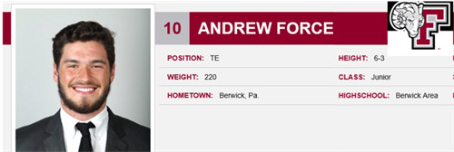 #10 Andrew Force