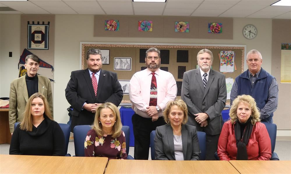 Picture of current school board.