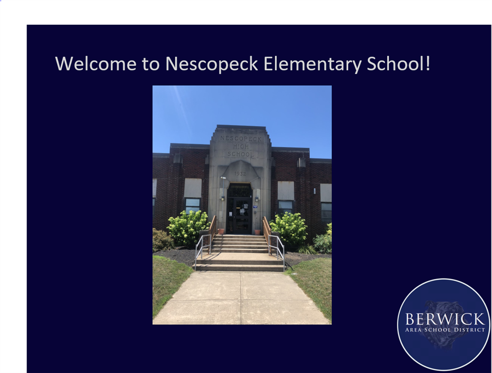 Nescopeck Elementary School Virtual Tour