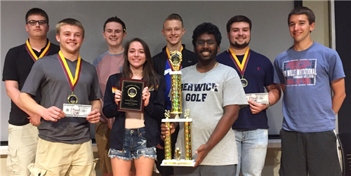 BLOOMSBURG – Berwick Area High School placed 1st and 4th of 20 teams at the Science Iditarod held h